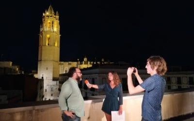 """📽 Vídeo: transmissió del muntatge """"Il·luminem la festa major!"""" amb entrevistes a Daniel Recasens i Salvador Palomar"""
