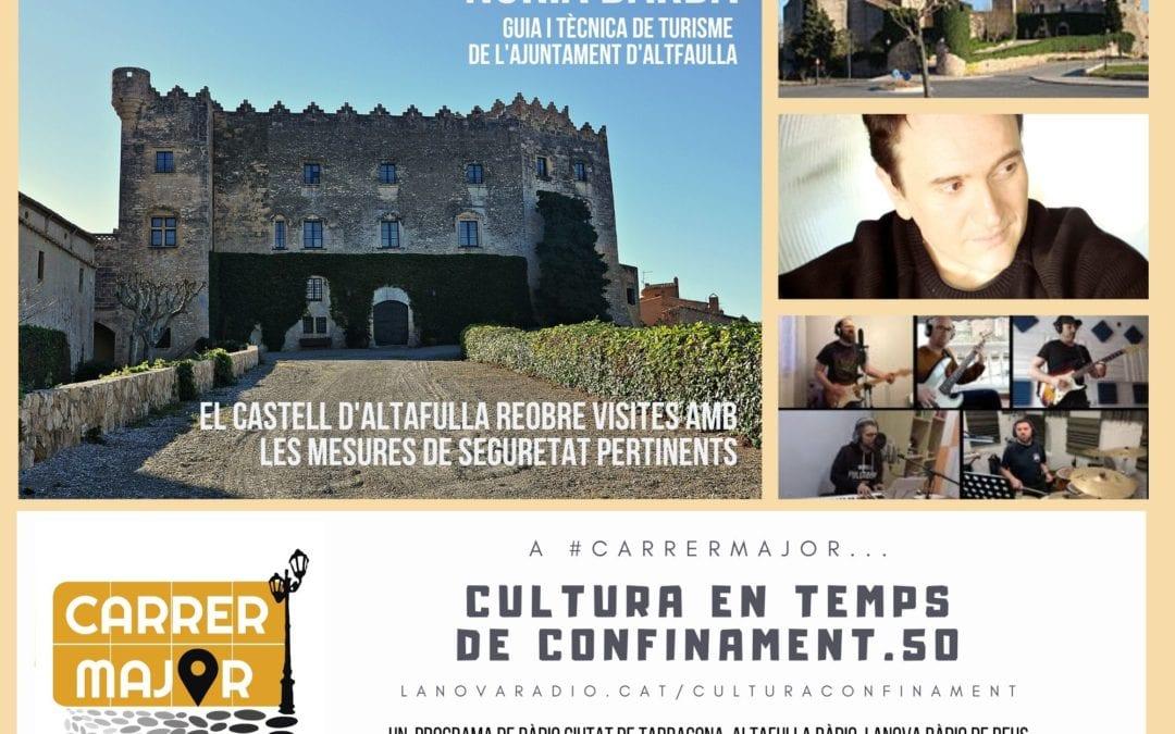 🔊 Cultura en temps de confinament. 50: el Castel d'Altafulla reobre les visites turístiques i cançó confinada dels reusencs Ryan Dogs