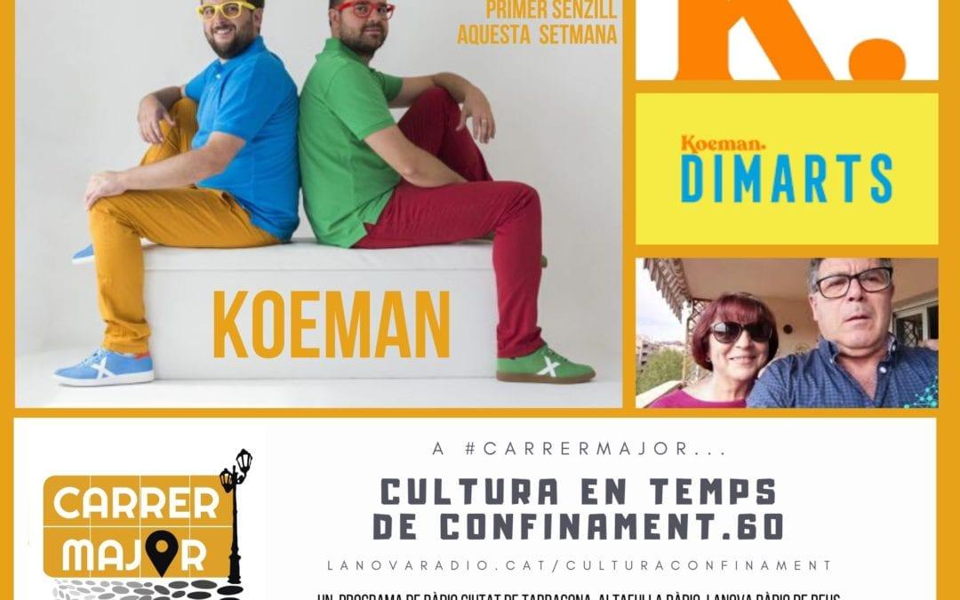 🔊 Cultura en temps de confinament. 60: entrevista als reusencs Koeman i cançó del taller de rap per a gent gran de Versembrant