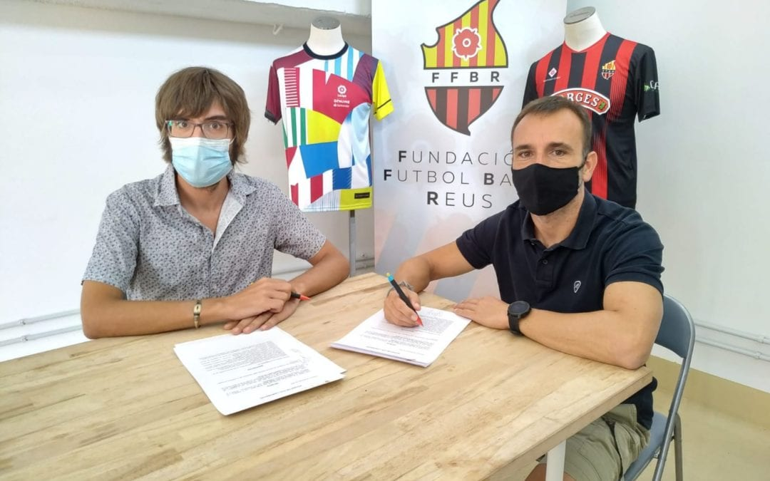 LANOVA Ràdio de Reus i la Fundació Futbol Base Reus arriben a un acord de col·laboració