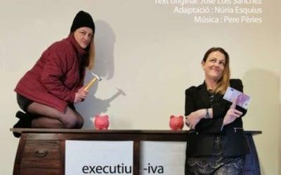 """🔊 Núria Esquius: """"'L'executiva' reflexiona amb ironia i humor sobre els límits del bé i el mal"""""""