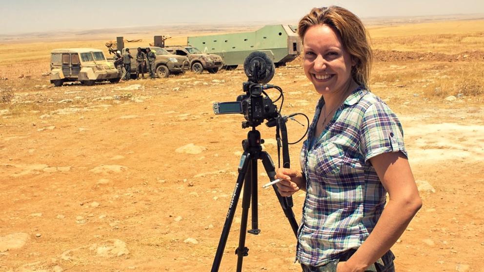 """🔊 Alba Sotorra: """"'Per la llibertat' narra un conflicte bèl·lic kurd i està rodat i protagonitzat pels protagonistes de la història que explica"""""""