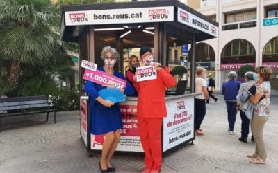 """🔊 Montserrat Caelles: """"La campanya 'Bons Reus' ha vingut per quedar-se per la gran acceptació que ha tingut"""""""