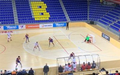 🔊 Xoc d'estics 33 – El Reus arrenca un empat del Palau Blaugrana amb hat-trick de Raul Marin