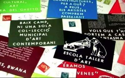 """? Francesc Vidal: """"Hi ha persones que rebien art postal que se sentien amenaçades"""""""