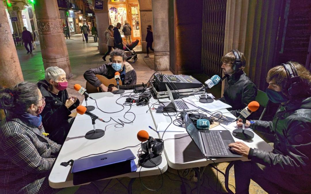 """🔊 """"Carrer Major"""", en directe des de Reus pel Festival Memorimage i l'encesa dels llums de Nadal"""
