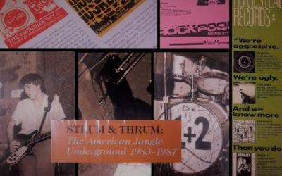"""🔊 """"Toc de Queda"""": 'Strum & Thrum: The American Jangle Underground (1983-1987) (Captured Tracks, 2020)'"""