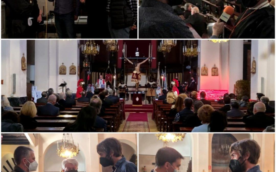 🔊 Transmissió de la Solemne Funció de l'Agonia i de les Tres Gràcies 2021
