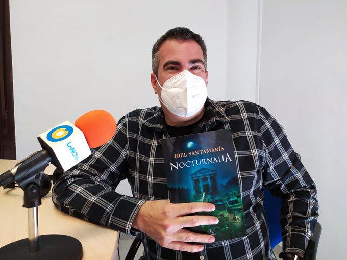 """🔊 Joel Santamaria: """"Volia reflectir creences i supersticions de l'època romana en una novel·la d'història i ficció"""""""