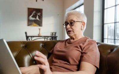 """? Teresa Soltero: """"A la residència sort n'hem tingut de les vídeotrucades però no són suficients"""""""