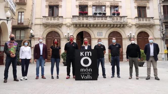 📽🔊 Tornen els castells a Valls per Sant Joan