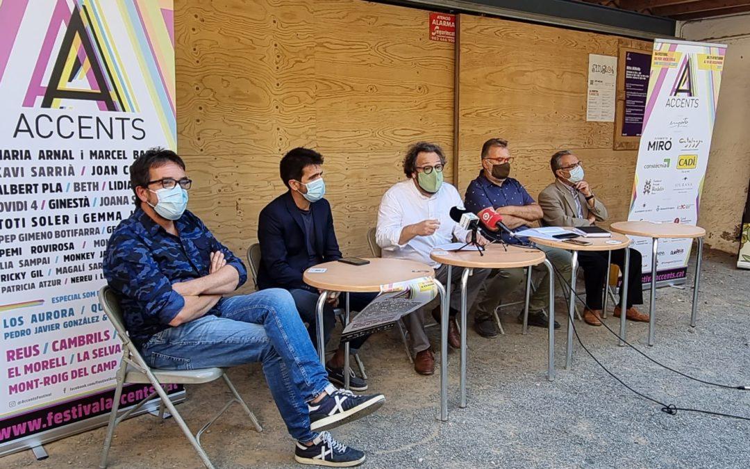 🔊 El Festival Accents programa 24 artistes en set municipis del Camp de Tarragona