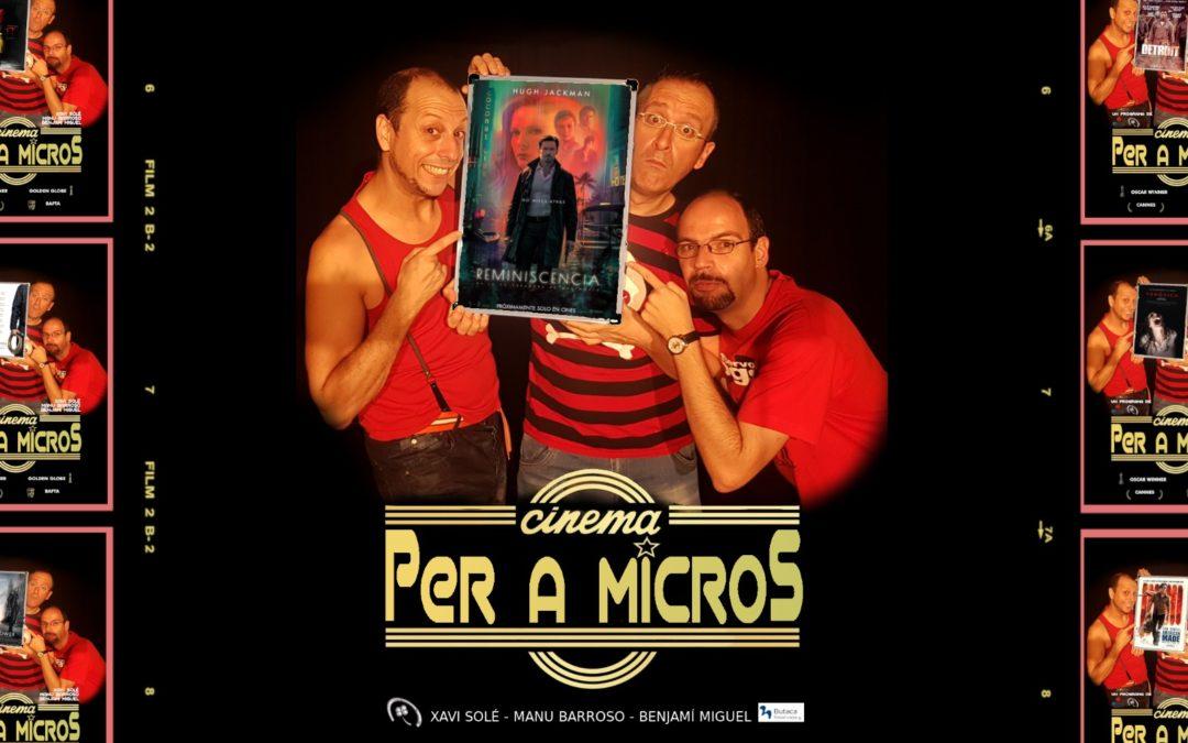 """🔊 """"Cinema per a micros. 01"""" – """"Reminiscencia"""""""