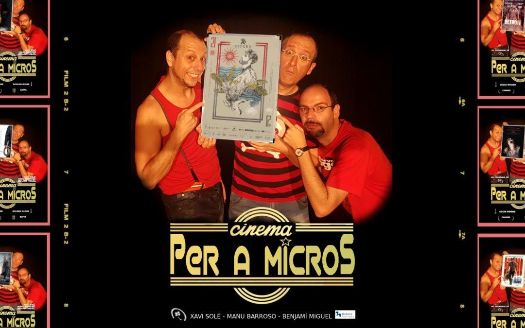 """🔊 """"Cinema per a micros. 04"""" – """"Especial Sitges"""""""