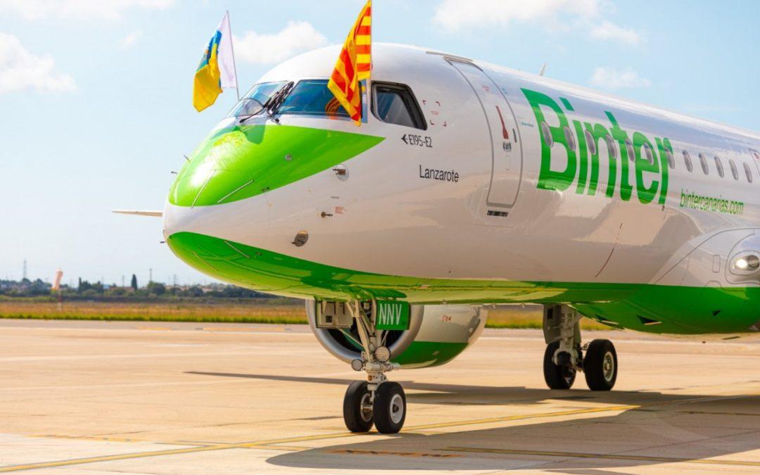 🔊 L'aerolínia Binter cancel·la els vols entre l'Aeroport de Reus i les Illes Canàries