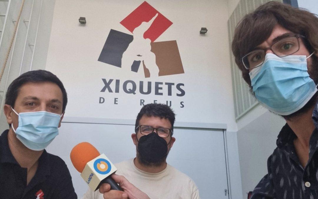 """🔊 Xiquets de Reus: """"Aquesta vegada l'objectiu casteller de la Diada del Mercadal és el fet de poder fer castells"""""""