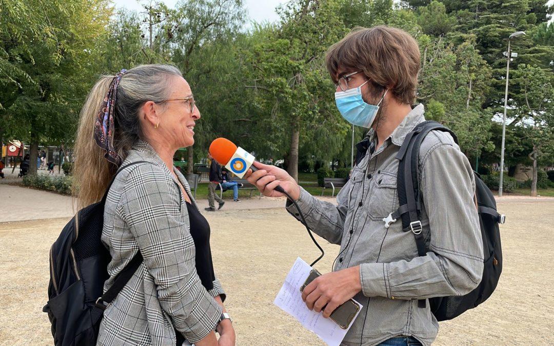 🔊 Connexió en directe amb Iolanda Fontgivell i Pilar Sans pel Festival COS 2021